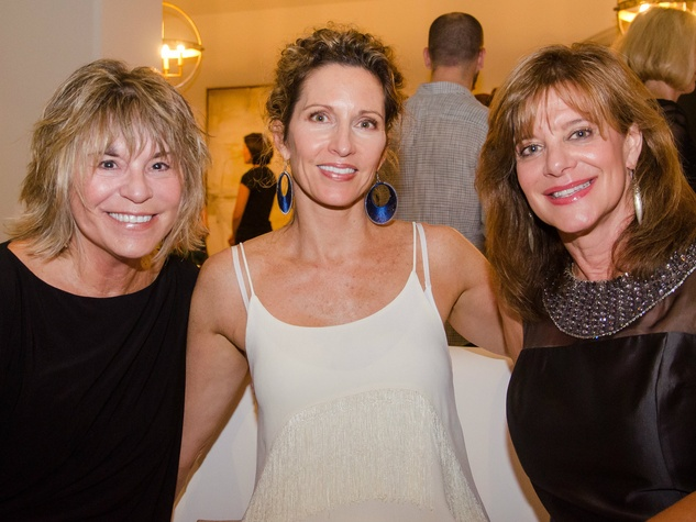 Bonnie Ray, DeeDee Ritzinger and Jamie Barshop at Dancing With the Stars preview in Austin