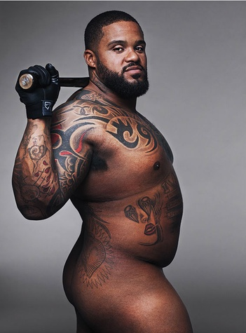 Prince Fielder in ESPN the Magazine's Body Issue