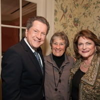 Bill Stubbs, from left, Mariquita Masterson and Beth Wolff at the Art of Conversation November 2014