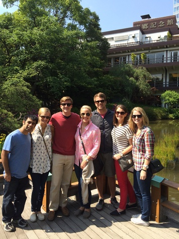 SMU Cox students in Tokyo