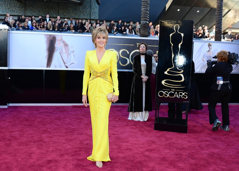 Jane Fonda, Academy Awards, February 2013