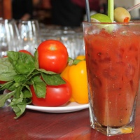 Bloody Mary at Brenner's on the Bayou
