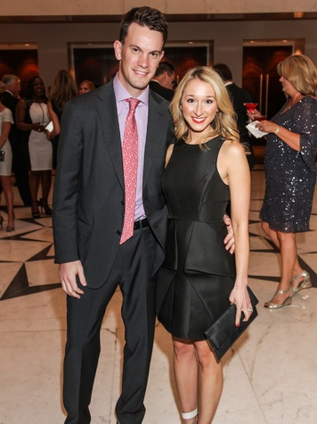 4853 James Stewart and Erin O'Leary Stewart at the Mission of Yahweh gala May 2014