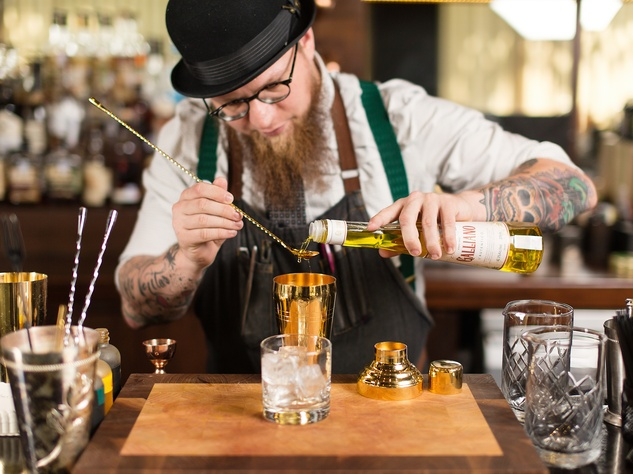 Houston, Radio Milano, bartender, happy hour