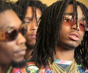 Migos hip-hop group