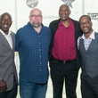 Chris Dishman, Daniel Guidry, Elvin Hays, Bubba McDowel at Big Texas party