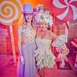 Fresh Arts Gum Ball Gala 2015 Chris Goins and Lucy Corona.