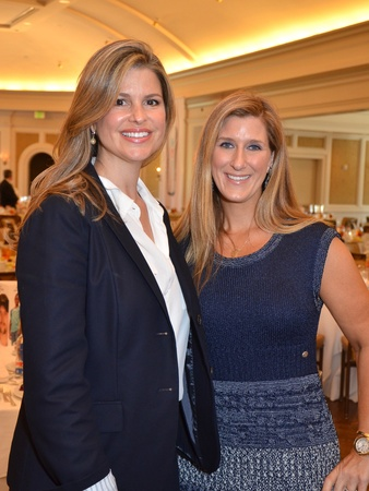 News_&#39;80s Supermodels luncheon_April 2012_Elena Davis_Lindsay Holstead