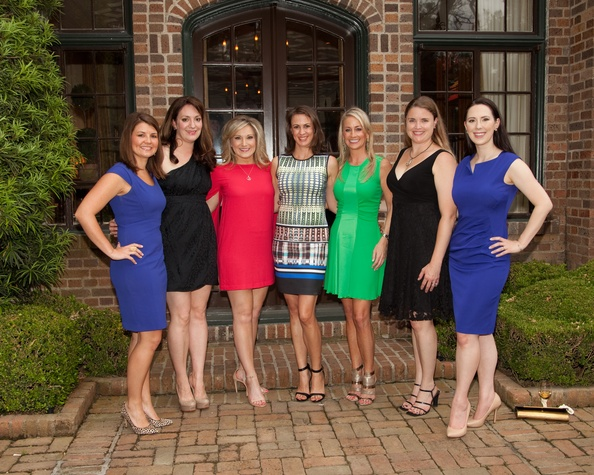 Houston, Junior League Legacy Salute, May 2015, Lauren Gates, Mitra Woody, Selby DeVault, Elena Peden, Amy Dunn, Danielle Ryan, Leslie Bramlett