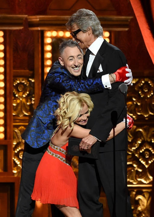 Tony Awards 2015 Kristin Chenoweth, Alan Cumming and Tommy Tune