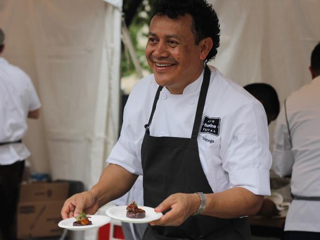 Chef Hugo Ortega at Taste of Texas Austin Food + Wine Fest
