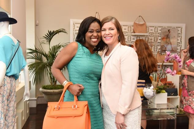 Houston, Elaine Turner Apparel Launch Party, May 2015, Sharron Melton, Lauren Levicki