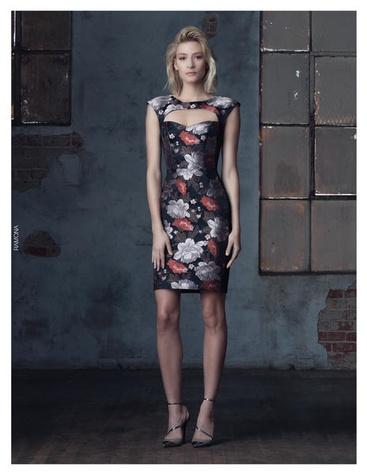 Janie Bryant for Black Halo dress