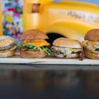 Bernie's Burger Bus breakfast sandwiches