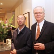 Michael Mann, left, and Baocai David Fang at the Da Camera Opening Night party October 2013