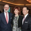 """5392 at the Harris County Hospital District Gala October 2013 H. Ben Taub, from left, Marcy Taub Wessel and Henry J.N. """"Kitch"""" Taub II USE"""