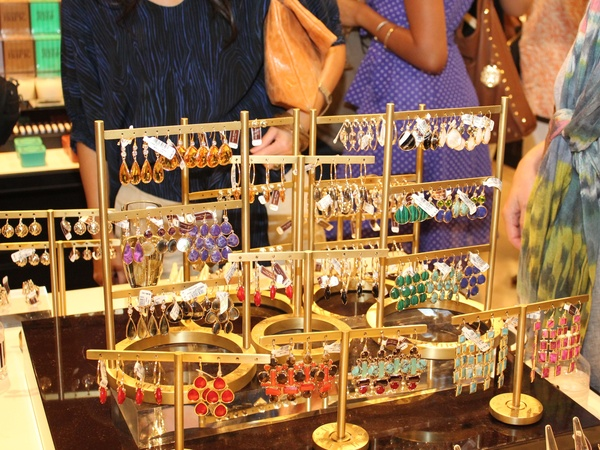 Henri Bendel Opening, Earrings, June 2012