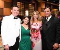 Houston, JDRF Promise Ball Havana Nights, May 2017, Drew Dougherty, Vita Dougherty, Paige Fass, Richard Fass