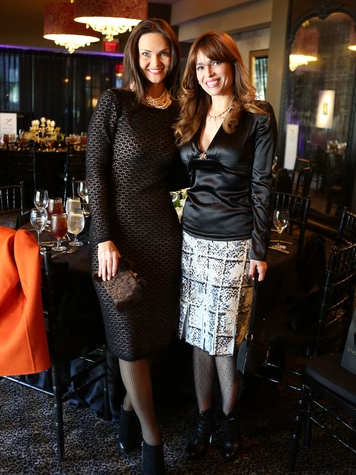Saks Fifth Avenue Donna Karan Ambassadors party, November 2012, Gabriela Dror, Karina Barbieri