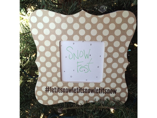 Deborah Elias my favorite things December 2014 Snow Fest