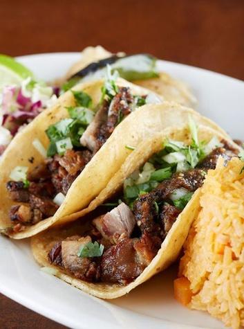 Tacos at Mesero Miguel restaurant in Dallas