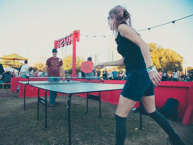 Fun Fun Fun Fest 2014 Day 3 Judy W. Anthony King Ping Pong