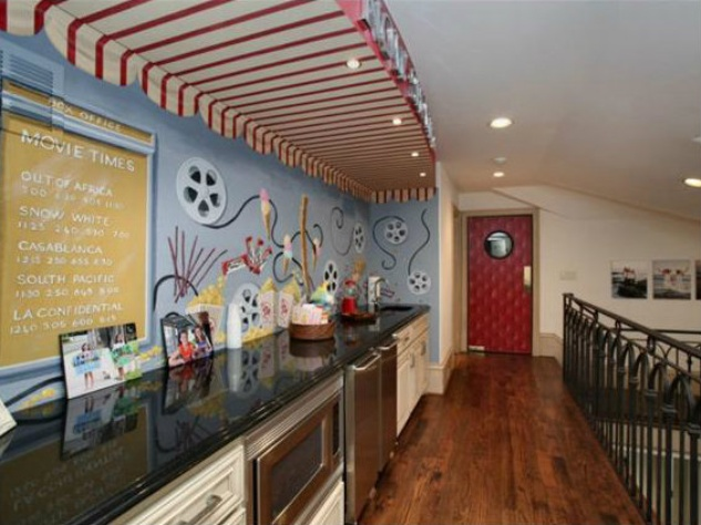 Kitchenette at 3801 Normandy Ave. in Dallas