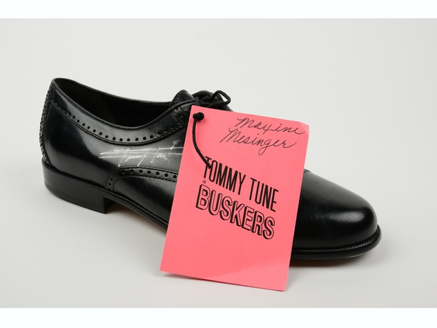 Maxine Mesinger auction October 2013 Tommy Tune shoe