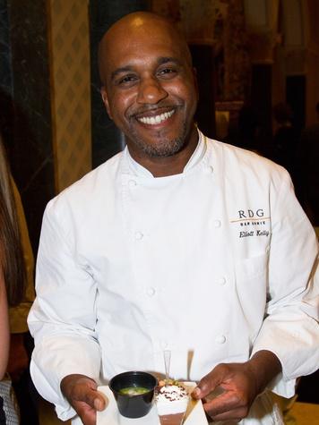 Elliott Kelly at the AVDA event October 2013