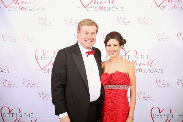 Charles and Liane Harrell at the Crossroads Gala June 2014