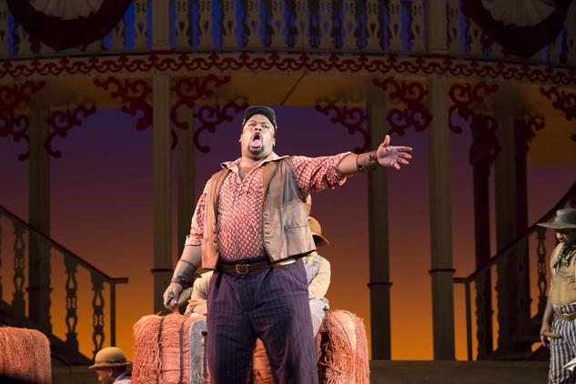 "Houston Grand Opera, Showboat, January 2013, Joe (Morris Robinson) sings ""Old Man River"""