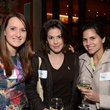 6 Lori Shenker, from left, Sabra Elyse and Nami Liberboim at the Holocaust Museum Houston's Next Generation Young Professionals kickoff party November 2013