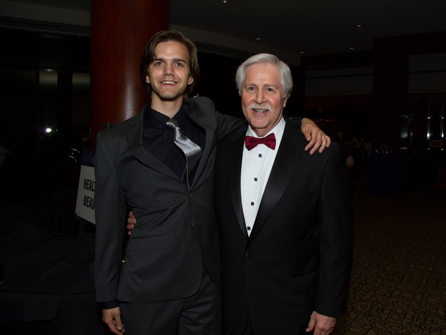 Kevin Wrice, left, and Bruce Vincent at the Big Brothers Big Sisters Gala September 2014