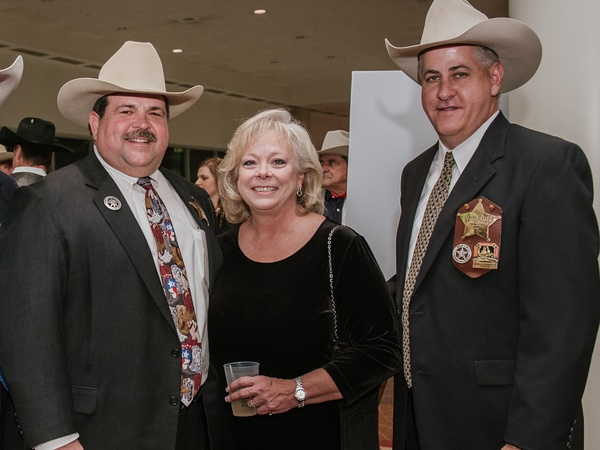 001, Rodeo Houston Hide Party, January 2013, Mike Wells Jr., Karen Wells, Sam Ayers