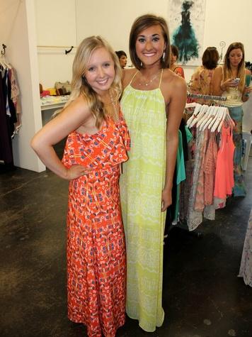 Ali Worman & Amanda Adrian, chantilly shopping events