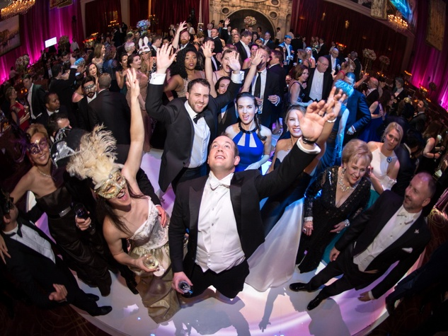 Houston, Houston grand opera ball, April 2017, dance floor