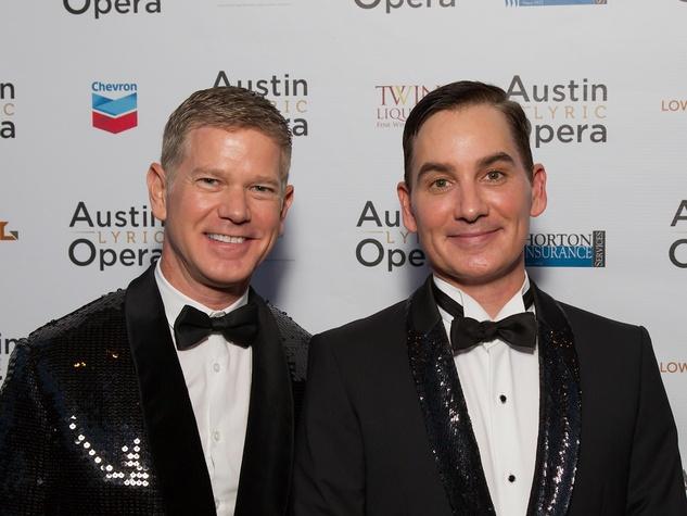 ALO Opening Night 2013 Scott Ballew and Graydon Parrish