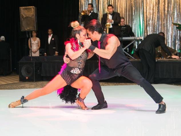 Komen Foundation Gala, Feb. 2016, Lucia Dargam, Tadeo Diaz