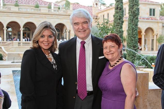 AVDA gala, October 2012, Eva Guzman, Nathan Hecht, Jackie Pontello