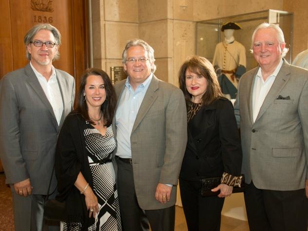 Michael Cain, Amy and Michael Meadows, Vera and Bob Thorton, Earth Day Texas Leadership Dinner
