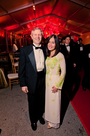 24 Hal and Kim Fiske at the Asia Society Tiger Ball March 2015
