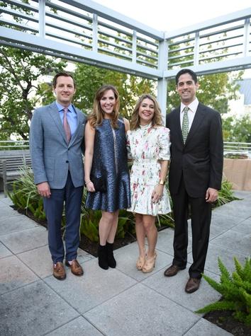 Houston, Dress for Success Cuisine for a Cause, Oct. 2016, Ben Patton, Mary Patton, Rachael Volz, Jason Volz
