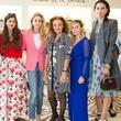 Jenke-Ahmed Tailly, Bettina Santo Domingo, Sabine Ghanem, Diane von Furstenberg, Nasiba Adilova, and Federica Fanari