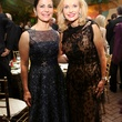 Cynthia Petrello, left, and Pat Breen at the Houston Grand Opera Opening Night celebration October 2013