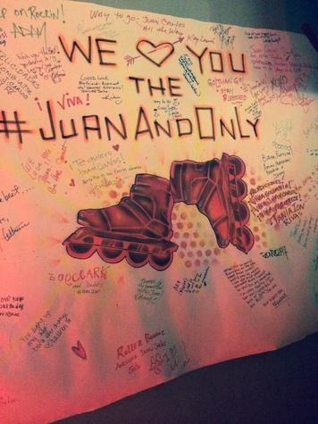 Juan Carlos America's Got Talent Banner 2
