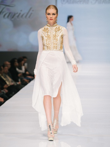 Look from Sameera Faridi at Fashion Houston Sept. 2014