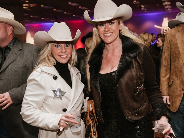 012, Rodeo Houston Hide Party, January 2013, Cassie Bounds, Robin Zumwalt