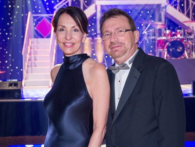 Susie Distefano, Dr. Iggy Distefano at Memorial Hermann Gala