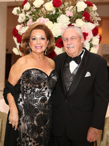 14 Houston Wine & Roses Gala May 2013 Philamena Baird and Arthur Baird