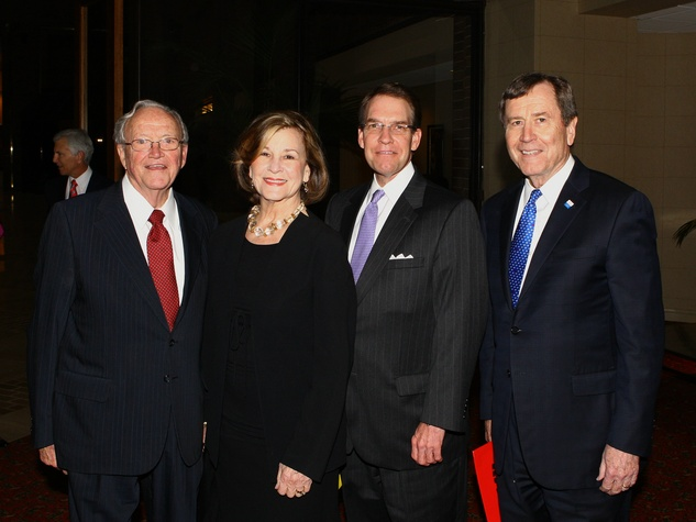 Bob & Gail Thomas, Norm Bagwell, Gerald Turner, Legends and Leaders